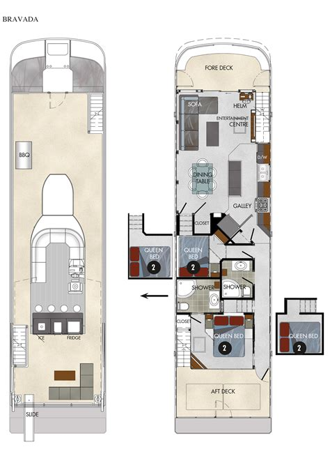 houseboat floor plans axiom star luxury houseboat rental lake powell resorts