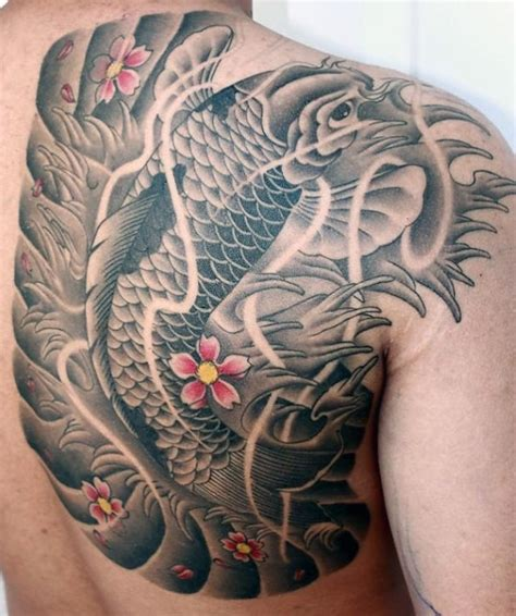 koi fish tattoo designs for guys 50 koi fish designs for japanese symbol of