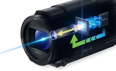 Sony Fdr Axp 55 4k Handycam With Built In Projector Hitam sony fdr axp55 4k handycam with built in projector free