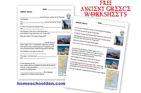Ancient Greece Worksheet by Ancient Greece Ancient Rome Worksheets And Activities