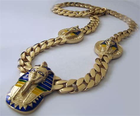 cadenas de oro de 24k precios catena uomo xl 5 testa faraone miami cubana placcata oro