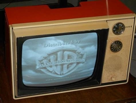 Orange Tvs 70 Digital vintage early 70 s orange zenith television collectors weekly