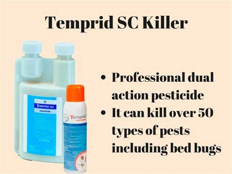 temprid sc bed bugs top 7 bed bug sprays fast blood sucking insect killers