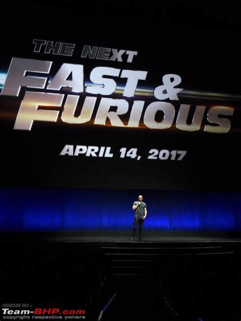 fast and furious 8 usa release date team bhp confirmed fast and furious 8 release in april 2017