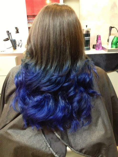 pictures of sapphire black hair with highlights blue ombre hair by sapphire rose15 on deviantart