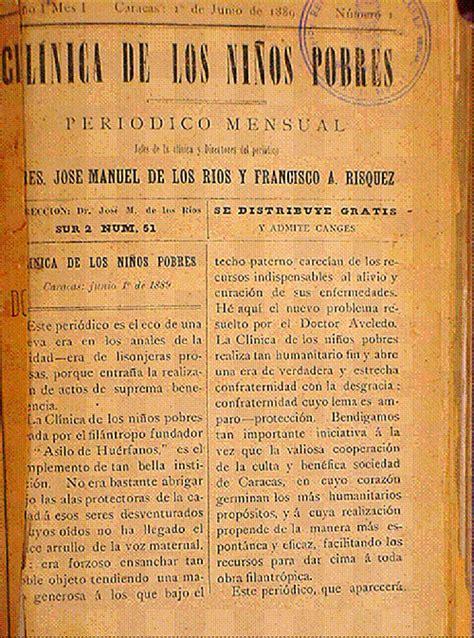 imagenes revistas medicas g 233 nesis de la pediatr 237 a venezolana el dr jos 233 manuel de