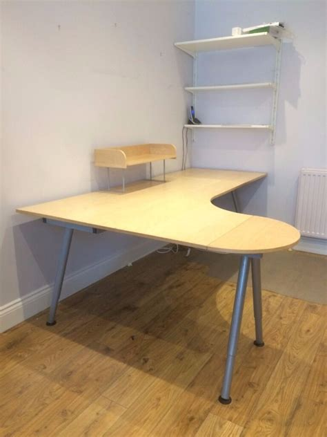 Ikea For Sale by Ikea Galant Desk For Sale With Desk Extensions Cable