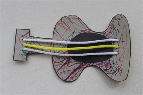 guitar craft for house toddler crafts week in review