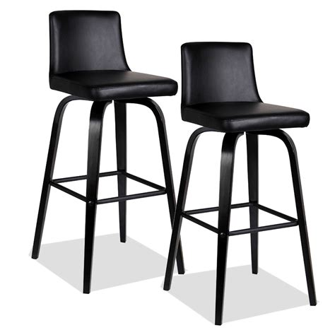 black leather curved back bar stool furniture black leather bar stools with back on curved