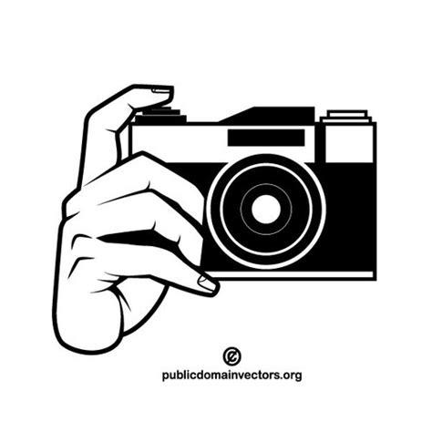 foto clipart foto kamera monochrom clipart domain vektoren