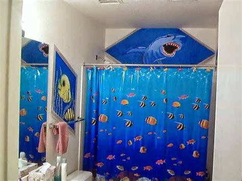 ocean themed curtains curtain ideas ocean themed shower curtains bathroom