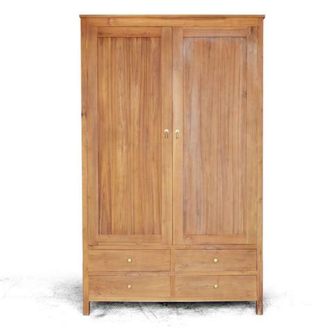 Lemari Kayu Satu Minggu beli lemari baju minimalis kayu jati solid jepara kedai