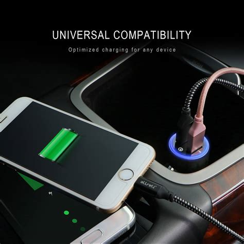 Usb Charger Car allreli 30w dual usb car charger with smart ic tech built
