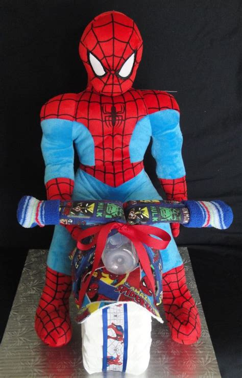 Spider Baby Shower Theme by Marvel Comic Spider Motorcycle Themed Cake Www