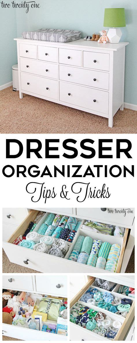 dresser organization tips and tricks great tips and