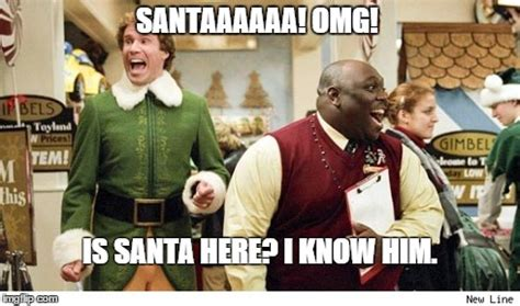 Elf Christmas Meme - the best moments from your favorite christmas movies