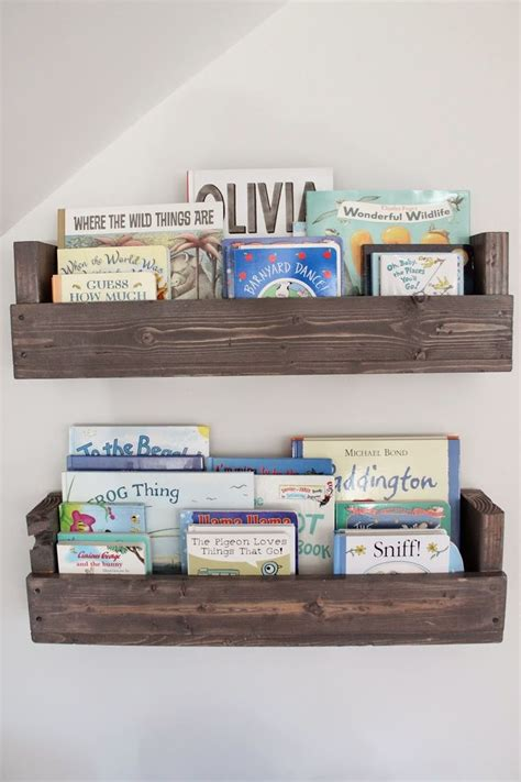 the picket fence projects baby s book nook for the