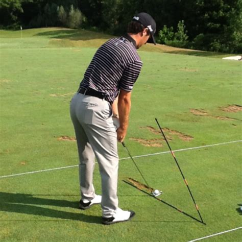 coming over the top in golf swing can you recommend an alignment stick drill to avoid coming