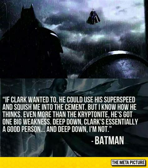 batman vs superman quotes batman vs superman who will win the meta picture