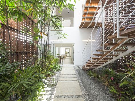 Kerala Home Design House by Gallery Of The Breathing Wall Residence Lijo Reny