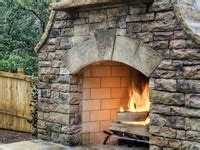 Hearth And Patio Pineville Patio Ideas On Water Features Fireplaces And