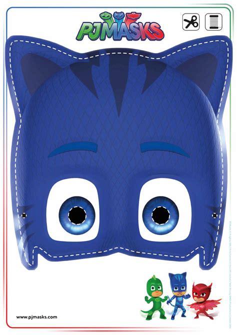 printable owlette mask printables pj masks owlette gekko catboy masks all