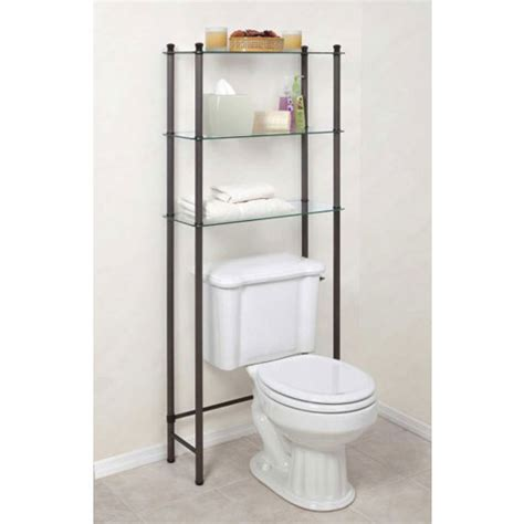 Free Standing Bathroom Shelf In Over The Toilet Shelving Free Standing Bathroom Shelves