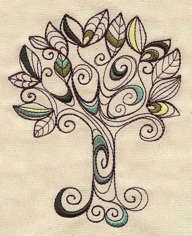 doodlebug embroidery design doodle tree threads unique and awesome embroidery