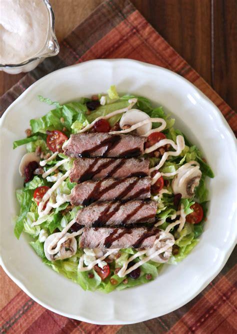 brio salad brio grilled steak salad copycat white apron blog