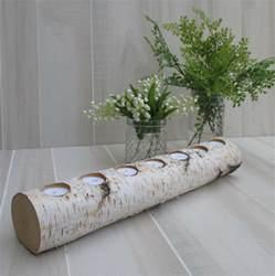 dekoration mit birke birkenstamm deko selber machen 35 ideen und anregungen