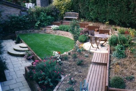 Sloping Garden Design Ideas Uk Sloping Garden Rg Hewitt Garden Landscaping