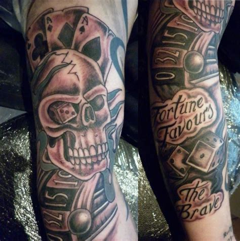 gambling tattoo images designs