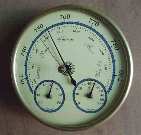 Thermometer Dan Hygrometer thermometer clay living dining room in the garden households and clay