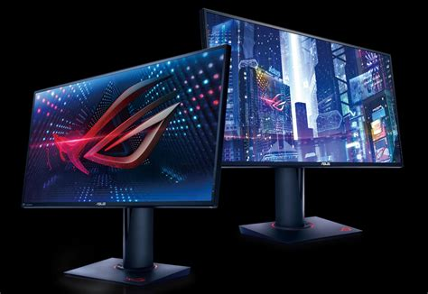 best gaming monitors 2018 pc gamer