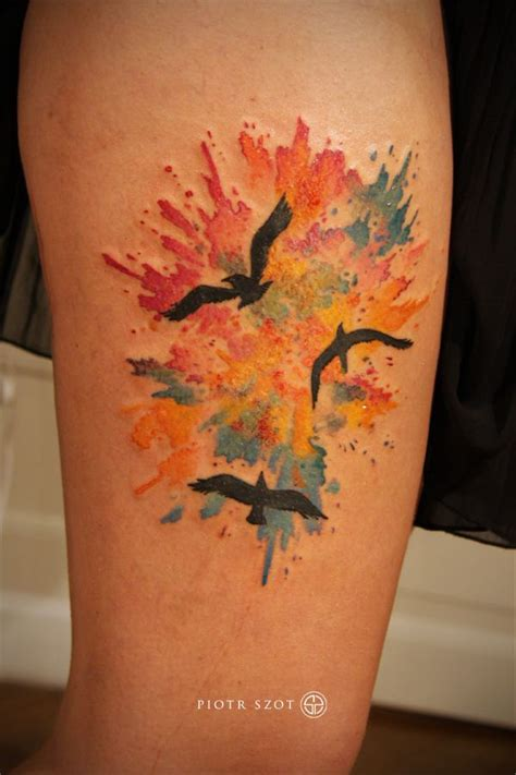 splatter paint tattoos 25 best ideas about paint splatter on