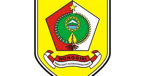 vector logo kota wonogiri portofolio