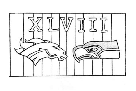 E Seahawks Coloring Pages Seahawks Color Pages