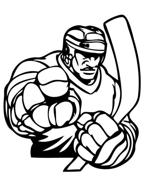 hockey cartoon coloring pages hockey color pages coloring home