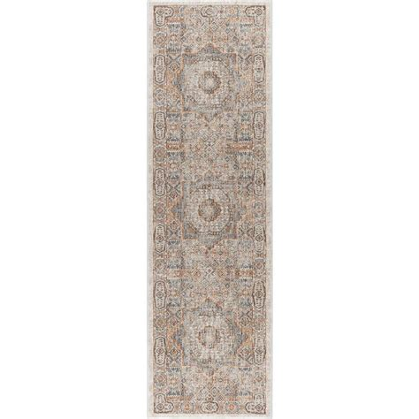 tayse rugs fairview ivory 2 ft 3 in x 11 ft runner