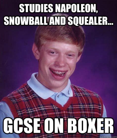 Sex Ed Meme - studies napoleon snowball and squealer gcse on boxer
