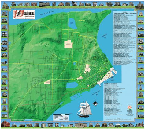 seattle map attractions seattle map tourist attractions toursmaps