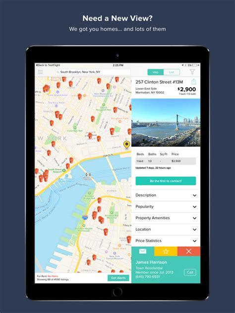 hotpads rentals real estate screenshot