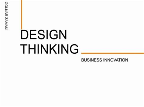 design thinking slideshare design thinking powerpoint