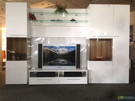contemporary lacquered tv wall units with white theme in modern white high gloss lacquer finish wall unit tv wall