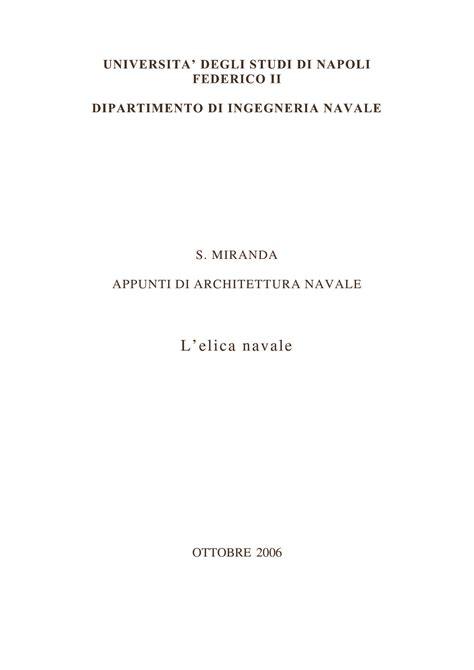 Dispense Geometria by Elica Navale Geometria Dispense