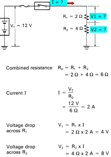 resistance in parallel voltage drop electrical circuits series and parallel circuits ohms
