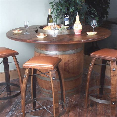 wine barrel table for sale wine barrel chairs for sale wine and whiskey barrel chairs