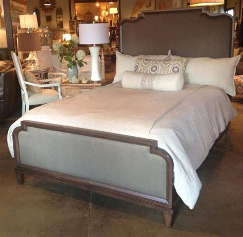 King And Footboard by Solid Wood Bed With Upholstered Headboard And Footboard By