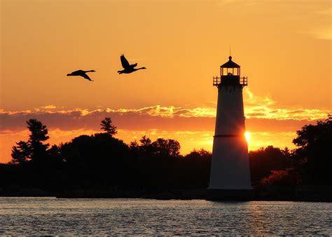 Lighthouse House Plans rock island lighthouse silhouettes photograph by lori deiter