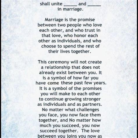 Wedding Ceremony Speech by Emejing Wedding Officiant Speech Exles Ideas Styles